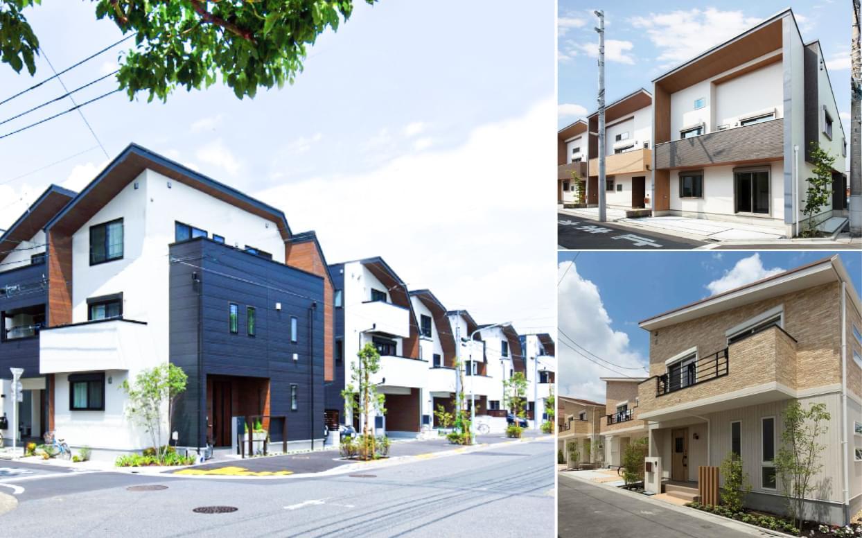 ハウセットが提供するデザイン分譲住宅